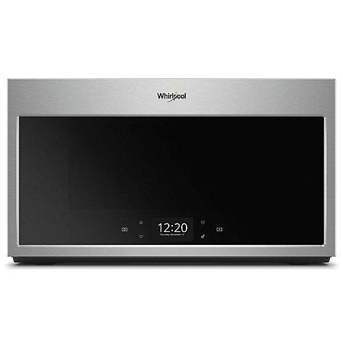 1.9 cu. ft. Smart Over the Range Microwave in Fingerprint Resistant Stainless Steel