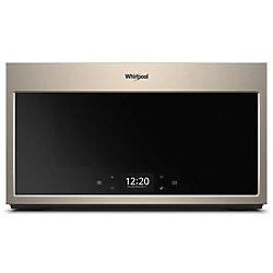 1.9 cu. ft. Smart Over the Range Microwave in Fingerprint Resistant Sunset Bronze