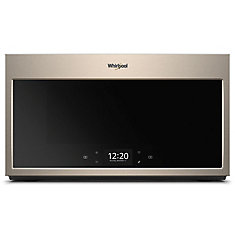 1.9 cu. ft. Smart Over the Range Microwave in Fingerprint Resistant Sunset Bronze