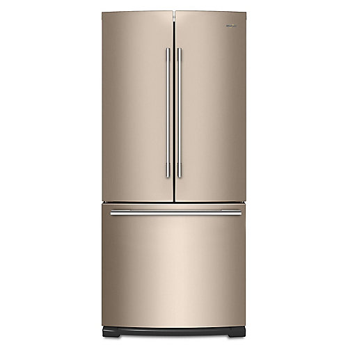 30-inch W 19.7 cu. ft. French Door Refrigerator in Sunset Bronze - ENERGY STAR®