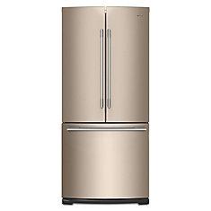 30-inch W 19.7 cu. ft. French Door Refrigerator in Sunset Bronze - ENERGY STAR®