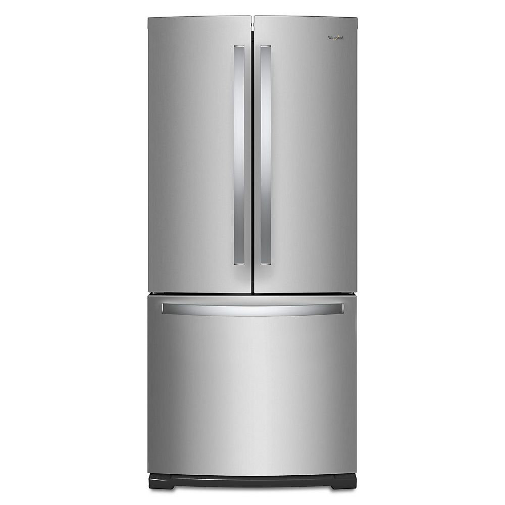 Whirlpool 30-inch W 19.7 Cu. Ft. French Door Refrigerator