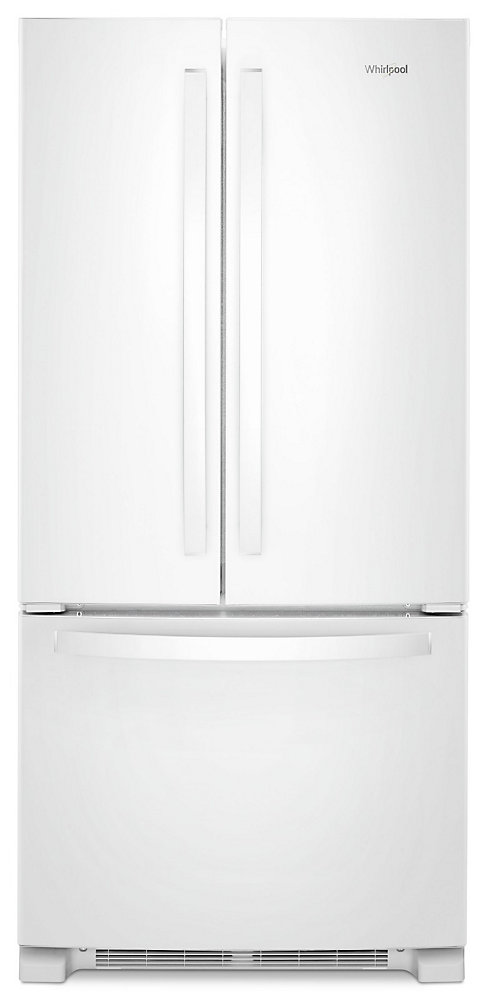 33-inch W 22 cu. ft. French Door Refrigerator in White - ENERGY STAR®