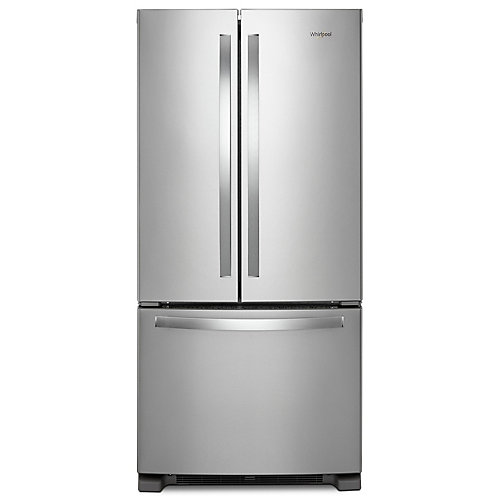33-inch W 22 cu. ft. French Door Refrigerator in Fingerprint Resistant Stainless Steel - ENERGY STAR®