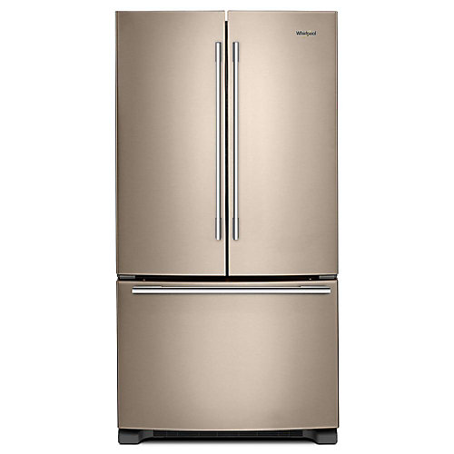 33-inch W 22 cu. ft.  French Door Refrigerator in Sunset Bronze - ENERGY STAR®