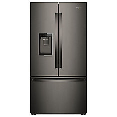 36-inch W 24 cu. ft. French Door Refrigerator in Stainless Steel, Counter Depth- ENERGY STAR®