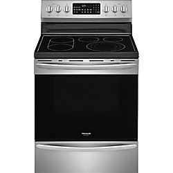 Frigidaire Gallery 30-inch 5.7 cu. ft. Freestanding Electric Range with Self-Cleaning Oven in Stainless Steel