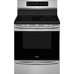 30-inch 5.4 cu.ft. Freestanding Induction Range in Smudge-Proof Stainless Steel