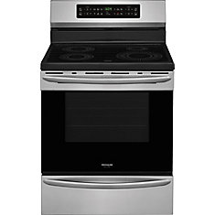 Gallery 30-inch 5.4 cu.ft. Freestanding Induction Range in Smudge-Proof Stainless Steel