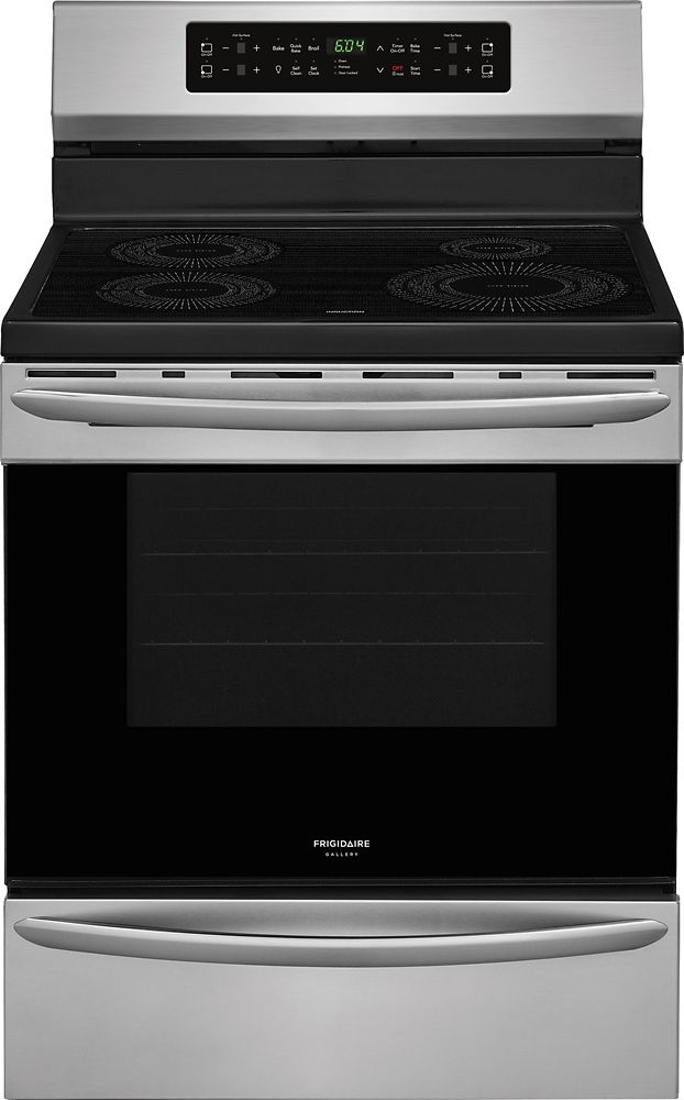 Frigidaire Gallery Gallery 30-inch 5.4 cu.ft. Freestanding Induction Range in Smudge-Proof Stainless Steel