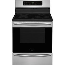 Frigidaire Gallery 30-inch 5.4 cu.ft. Freestanding Induction Range in Smudge-Proof Stainless Steel