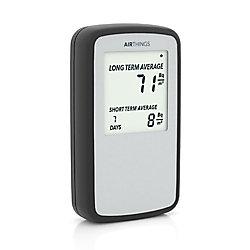 Airthings Corentium Battery Powered Digital Home Radon Detector