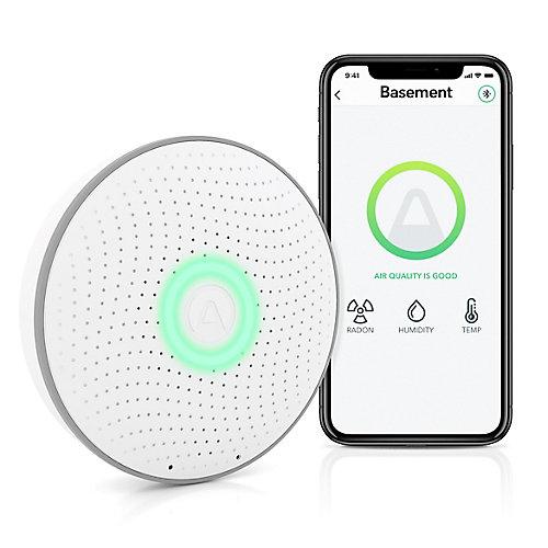 Wave Smart Radon Detector with Smartphone App
