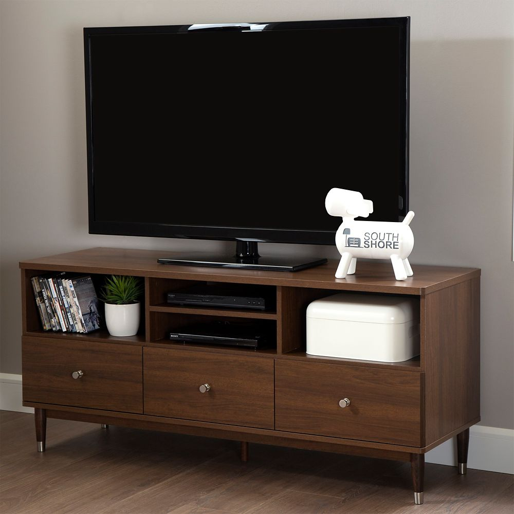 Monarch Specialties Tv Stand 60 Inch L White With 1