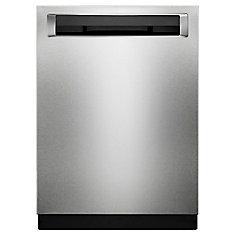 PrintShield Stainless, Top Control w/Status Display, 46 dBA Built In Dishwasher