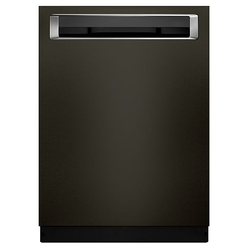 KitchenAid Top Control Built-In Dishwasher with 3rd Rack in Black Stainless Steel, 46 dBA