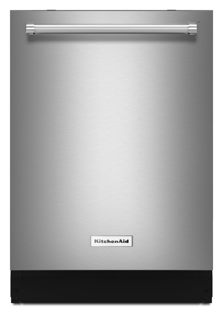 KitchenAid Top Control Built-In Tall Tub Dishwasher in PrintShield Stainless Steel with Stainless Steel Tub, 39 dBA