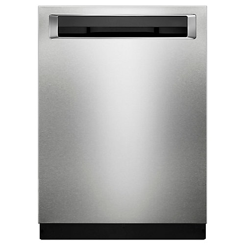 Top Control Built-In Tall Tub Dishwasher with 3rd Rack in PrintShield Stainless Steel, 39 dBA