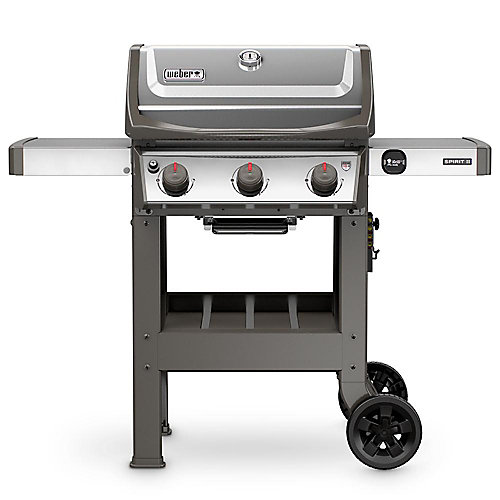 Spirit II S-310 3-Burner Propane BBQ in Stainless Steel