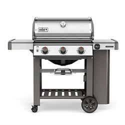 Weber Genesis II S-310 3-Burner Liquid Propane Gas BBQ in Stainless Steel