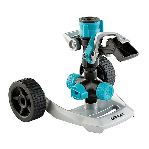 Gilmour Heavy Duty Circular Sprinkler with Wheel Base
