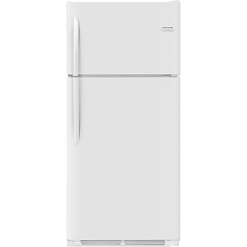 Réfrigérateur pour congélateur de 30 po W 18 pi3 en blanc