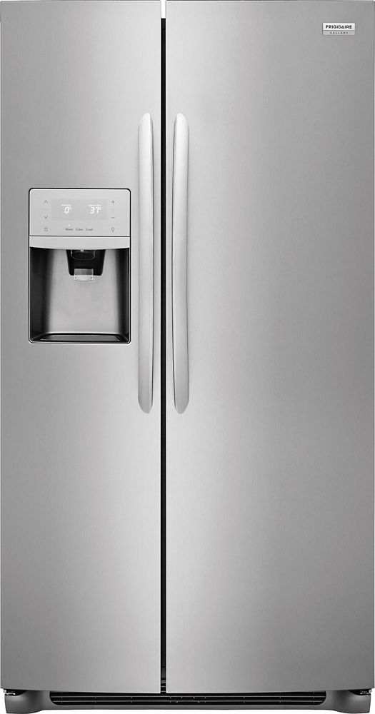 Frigidaire Gallery Frigidaire Gallery 22.1 Counter-Depth Side By Side Refrigerator in Smudge-Proof Stainless Steel