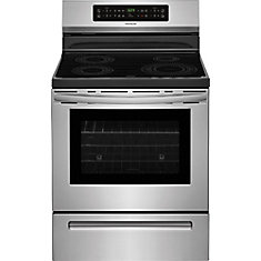 30-inch W 2.0 cu. ft. Freestanding Induction Range with Self-Cleaning in Stainless Steel