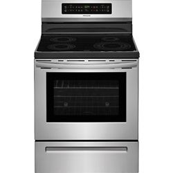Whirlpool 30-inch W 6.4 cu. ft. Electric Slide-In Range with 5 Elements YWEE750H0HV