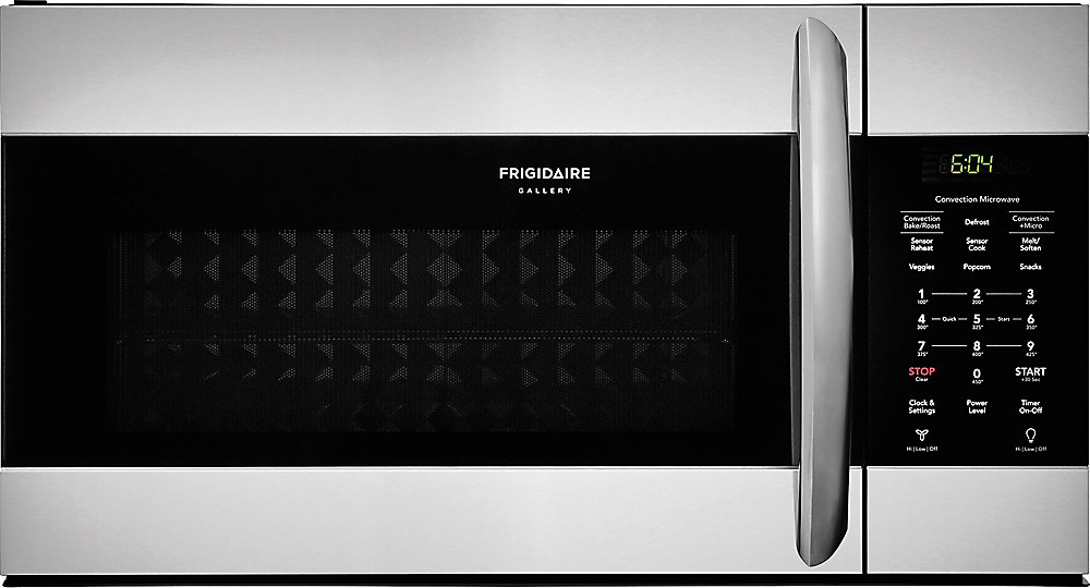 Frigidaire 30 Inch W 1 5 Cu Ft Over The Range Microwave In Smudge Proof Stainless Steel