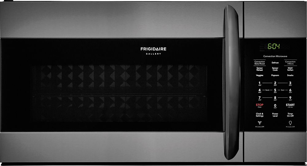 "Frigidaire Frigidaire Gallery 30"" Over the Range Microwave in Black Smudge-Proof Stainless"