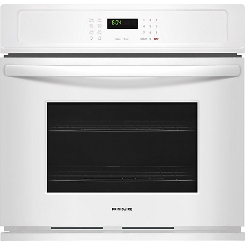 """Frigidaire 30"""" Single Wall Oven in White"""