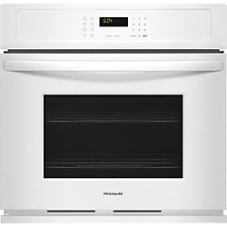 30-inch Single Electric Wall Oven, Self-Cleaning in White