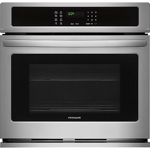 "Frigidaire 30"" Single Wall Oven in Stainless Steel"
