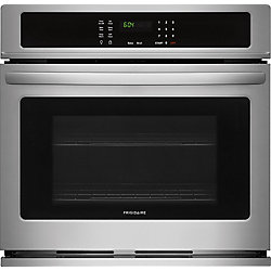 30-inch Single Electric Wall Oven Self-Cleaning in Stainless Steel