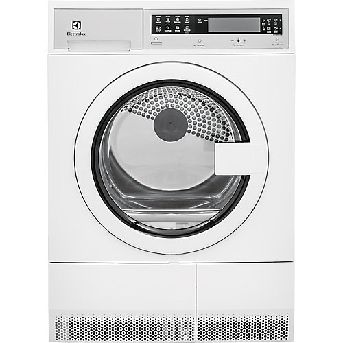 24-inch W  4 cu. ft. High Efficiency Front Load Dryer in White, Ventless