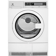 24-inch W  4 cu. ft. High Efficiency Front Load Dryer in White - ENERGY STAR®