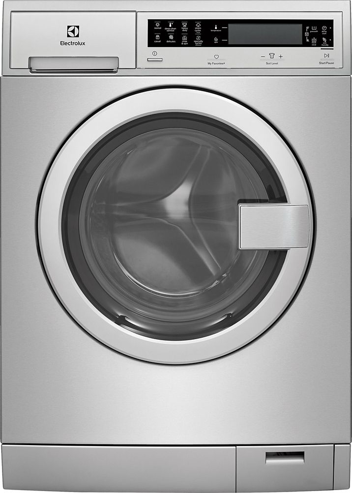 "Electrolux Electrolux 24"" Front Load Washer in Stainless Steel - ENERGY STAR®"
