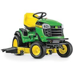 John Deere Tracteur de pelouseà essence avec transmission hydrostatique E180, 2cyl. 54 po, 25 HP