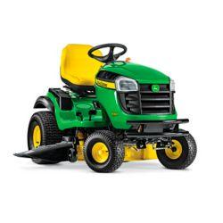John Deere Tracteur de pelouse autoporté E160 V-Twin ELS, 24 HP, 48 po