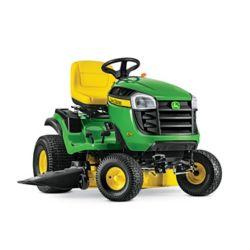 John Deere Tracteur de pelouseà essence avec transmission hydrostatique E150, 2cyl. 48 po, 22 HP