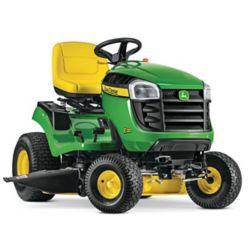John Deere Tracteur de pelouseE120, transmission hydrostatique, corps 107cm (42po), essence, 20HP, 2cyl.