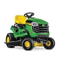 John Deere Tracteur de pelouseE100, transmission automatique, à essence, 17,5HP, corps de 107cm (42po)