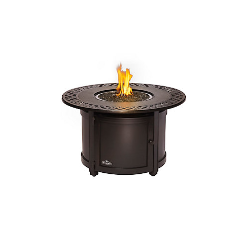 Patioflame Round Victorian Outdoor Fire Table