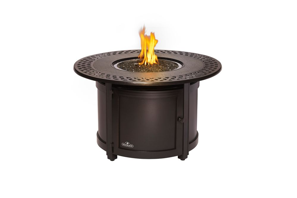 Napoleon Patioflame Round Victorian Outdoor Fire Table
