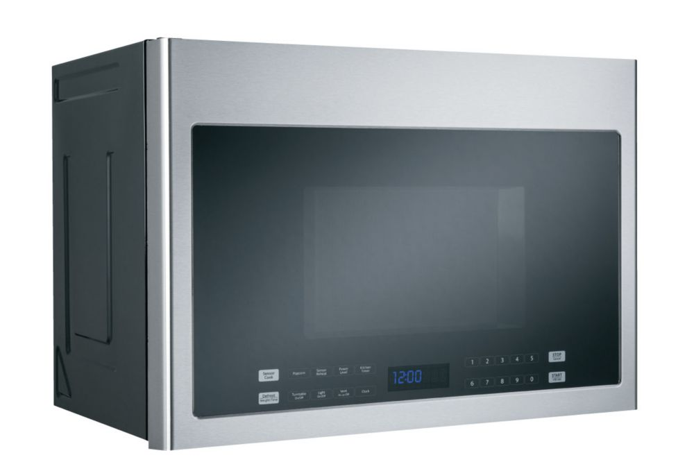 Haier 24 Inch 1 4 Cu Ft Over The Range Microwave In