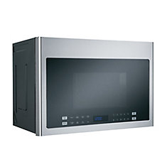 24-inch 1.4 cu. ft. Over the Range Microwave in Stainless Steel