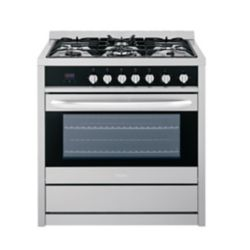 Haier 36-inch 3.8 cu. ft. Single Oven Gas Range with Convection Oven in Stainless Steel
