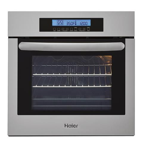 "Haier Haier 24"" Single Convection Wall Oven"