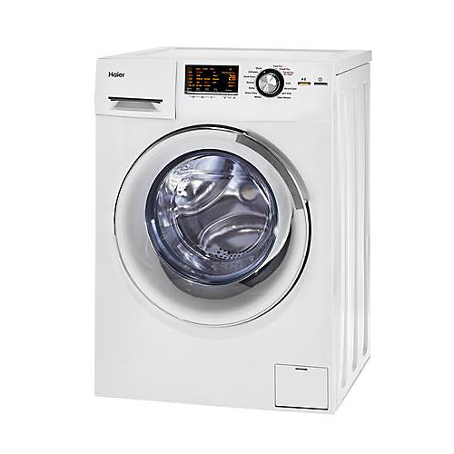 2.0 cu. ft. Washer and Dryer in White